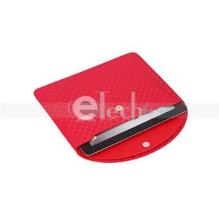 PU leather Thin Sleeve Pouch Hand Bag Case for iPad 2 1 in 3 Colors
