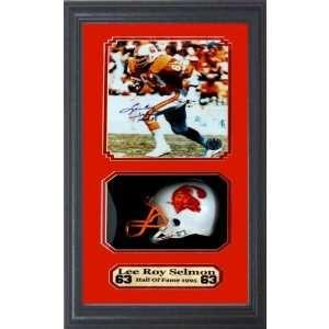 Tampa Bay Bucs Lee Roy Selmon Autograph Frame Sports