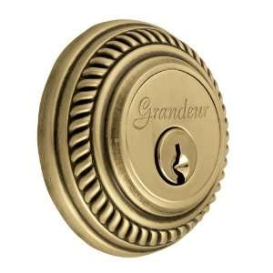 Grand Newnew Newport Deadbolt Single Cylinder Vintage