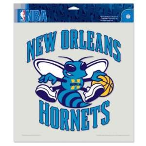 New Orleans Hornets 8x8 Die Cut Decal