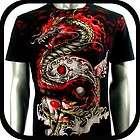 items in megamall123 Size M L Skull Tattoo Biker Punk Skate Clothing