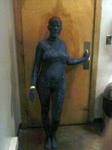 MYSTIQUE X MEN HOMEMADE HALLOWEEN COSTUME AWESOME SIZE PETITE