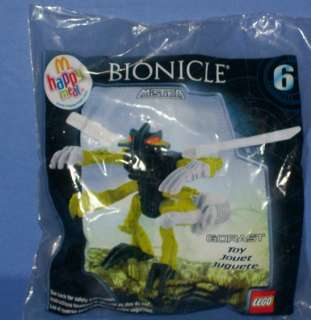 McDonalds Happy Meal Toy Lego BIONICLE GORAST #6 (2008)