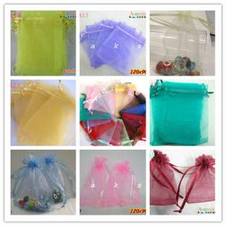 organza wedding jewelry packaging favor bags pack of the most