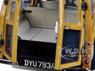 1963 MORRIS MINOR 1000 TRAVELLER BLUE 1/12 1OF1500 PRODUCED BY SUNSTAR