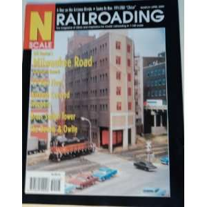 N Scale Railroading Magazine Marche April 2003: N Scale