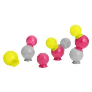 Boon Bubbles Suction Cup Bath Toys, Yellow Baby