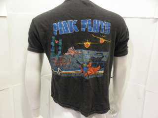 80s Vintage Pink Floyd On Tour The Wall Rock T Shirt Size XL