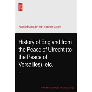 ), etc.: III: Philip Henry Stanhope 5th Earl Stanhope.: Books