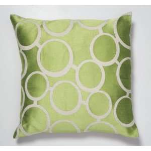 Trina Turk Green Spectacles Pillow