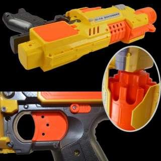 New RAGING FIRE Semi auto Soft Bullet Blaster Nerf Gun 20 Dart Toy AGE