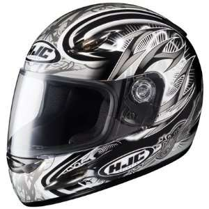 HJC CS Y Youth Hellion Full Face Motorcycle Helmet MC 5 Black Large L