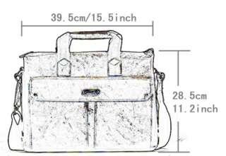 New Mens Casual leather shoulder bag messenger briefcase hand bag