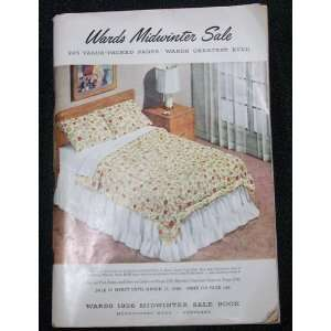 Wards Midwinter Sale 1956 (Catalog) Montgomery Ward Books