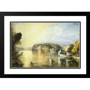 Turner, Joseph Mallord William 24x18 Framed and Double