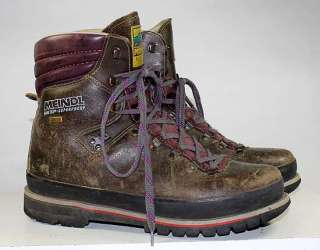MEINDL BRAND OUTDOOR/HIKING/TRAIL GORE TEX VIBRAM LEATHER BOOTS sz 9