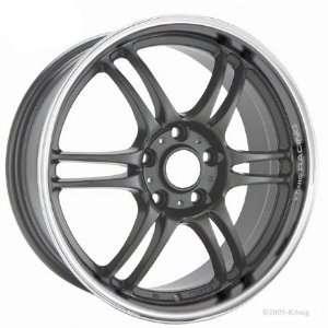 18x7.5 Konig Kolors (Graphite w/ Machined Lip) Wheels/Rims