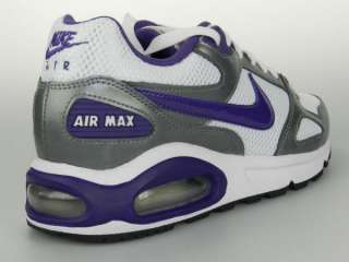 NIKE AIR MAX CLASSIC LEA SI NEW Womens Retro Purple White Running