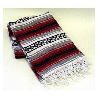 Mexican Saltillo Sarapes Throw Rugs Colorful Mexican Blankets Orange
