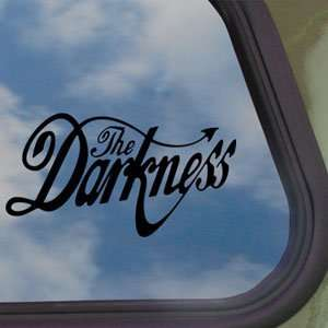 Darkness Black Decal Metal Rock Band Window Sticker