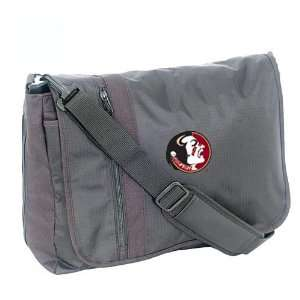 Mercury Luggage Florida State Seminoles Black Messenger Bag