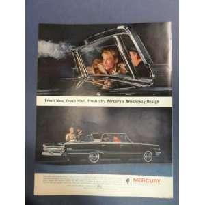 1963 Mercury. full page print advertisement. (mercurys