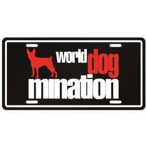 New  Toy Fox Terrier  World Dog   Mination  License