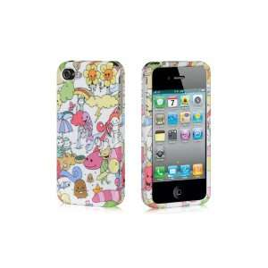 Apple Iphone 4, 4s Phone Protector Hard Cover Case Happy Ground Design