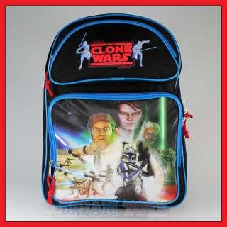 Star Wars Clone 16 Backpack Bag Book Boys Trooper Luke