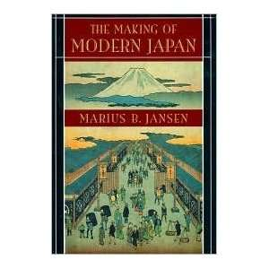 Japan Publisher Belknap Press of Harvard University Press Marius B