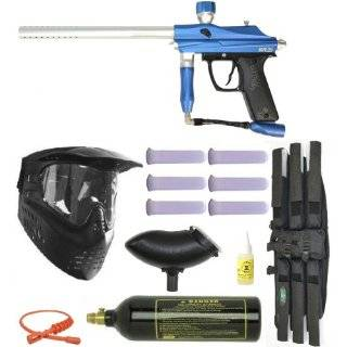 Azodin Kaos Semi Auto Paintball Marker Gun   Black  Sports