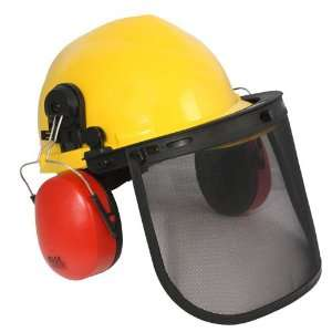 RADIANS LOGGERS COMBO Pin lock suspension hard hat, cap mount earmuff