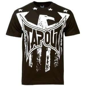TapouT Brown Eagle T shirt: Sports & Outdoors