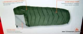 KELTY Camp 30 Degree Sleeping Bag Dark Green BNIB