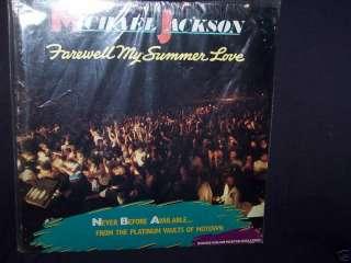 MICHAEL JACKSON FAREWELL MY SUMMER LOVE 84 LP SEALED