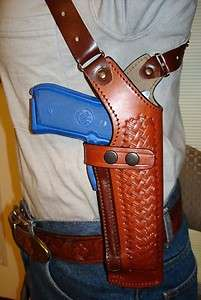LEATHER SHOULDER HOLSTER 4 KIMBER 1911 3 ULTRA CARRY 3.5 UC II