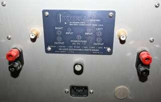 KRELL KSA 50 MKII Mono Block Power Amplifier Class A KSA50 MK2