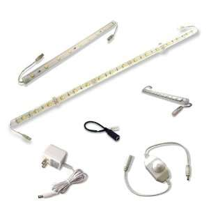Single Brighter LED Light Bar Kit   9 inch   neutral white