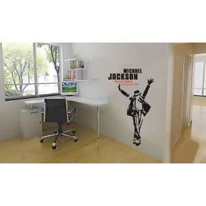 Large  Easy instant decoration wall sticker Jackson