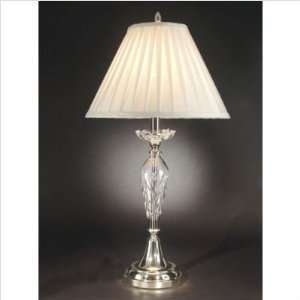 Dale Tiffany Garrison Crystal Table Lamp: Home Improvement