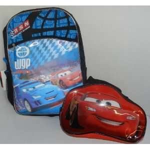 Disney Cars Movie 2   Large 3 d Backpack, 16 with Disney Pixar Cars 2