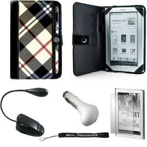 Car Charger Kit + Black Clip On Brighty XtraFlex LED Light Flexible