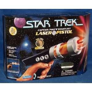 Star Trek Captain Pikes Starfleet Laser Pistol with Working Lights