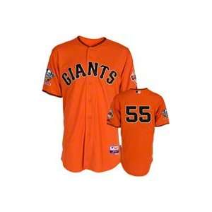 Tim Lincecum Orange Giants Jersey World Series 2010 Fall