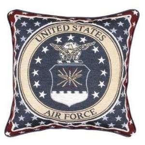 New   U.S. Air Force Insignia Theme Decorative Throw Pillow 17 x 17