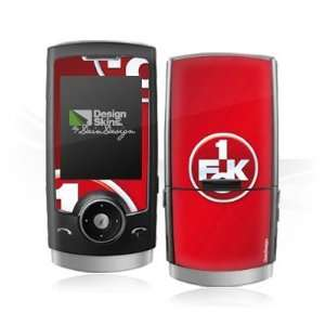 Design Skins for Samsung U600   1. FCK Logo Design Folie