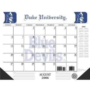 Duke University Blue Devils NCAA2006 2007 Academic/School Desk