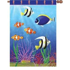 Premier Designs 28 In Flag   Reef Fish Toys & Games