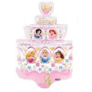 Foil Mylar Disney Princesses Birthday Cake (Shaped) Toys & Games
