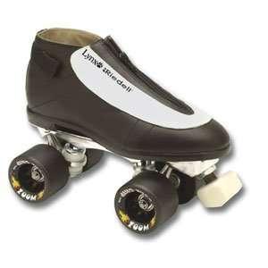 Riedell Lynx Black Cat Roller Skate Package